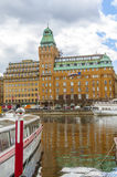 Radisson Hotel from Stockholm royalty free stock photos