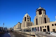 RADISSON-hotellet i Astana Arkivbild
