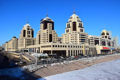 RADISSON-hotellet i Astana Arkivfoton