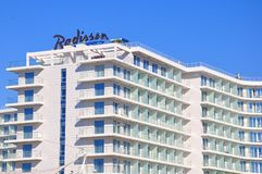 Radisson Hotel, Adler, Russia royalty free stock image