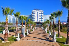 Radisson Blue Hotel, Adler, Russia. Radisson is an international hotel company and a subsidiary of the Radisson Hotel Group. It operates the brands Radisson stock photos