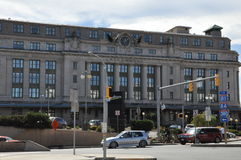 Radisson Lackawanna Station Hotel. A former train station, in Scranton, Pennsylvania stock images
