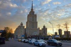 Radisson Royal Hotel, Moscow stock image