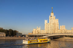 Radisson Royal Hotel in Moscow, Russia. This picture is taken at Moscow, Russia. The Radisson Royal Hotel, Moscow is a five-star luxury hotel in Moscow city stock photography