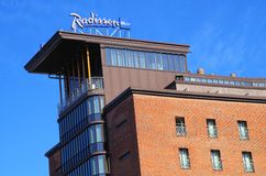 Radisson SAS hotel Stock Photography