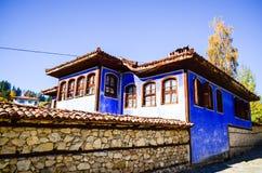 Тraditional bulgarian house Royalty Free Stock Photos
