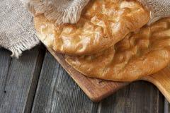 Raditional turecki chleb Obrazy Royalty Free