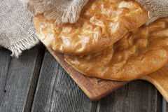 Raditional   turkish bread Royalty Free Stock Images