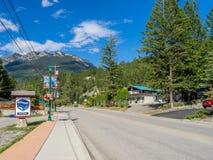 Free Radium Hot Springs Stock Photography - 57999282