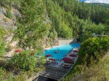 Free Radium Hot Springs Royalty Free Stock Photos - 58001018