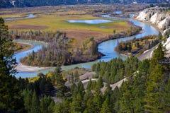 Radium Hot Springs, British Columbia Stock Images