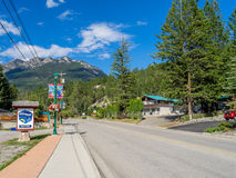 Radium Hot Springs Stock Photography