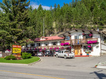 Radium Hot Springs Stock Photos