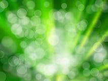 Radius Green Aura Stock Image