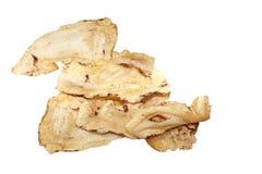 Radix angelicae sinensis. Slices of dried Radix angelicae sinensis herbal medicine royalty free stock images