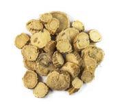 Sophora flavescentis. Ku shen. Radix Sophorae flavescentis, chinese herbal medicine isolated. Ku Shen Stock Image
