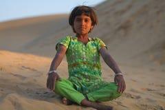 radjastani κοριτσιών Στοκ εικόνα με δικαίωμα ελεύθερης χρήσης