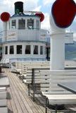 Radkasten von Stadt Rapperswil, Paddel-Dampfschiff, 100 Jahre alt Lizenzfreie Stockfotos