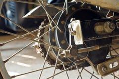 Radmotorräder Stockbild