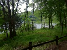 Radnor Lake. Hiking at Radnor Lake in Nashville, Tennessee royalty free stock images