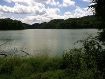 Radnor Lake. Hiking at Radnor Lake in Nashville, Tennessee Royalty Free Stock Image