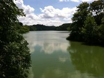 Radnor Lake. Hiking at Radnor Lake in Nashville, Tennessee stock images