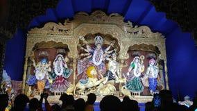 Radość Maa Durga fotografia stock