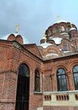 Radość wszystko który stroskanie katedra na wyspie Sviyazhsk w Wrześniu, 2016 Fotografia Stock