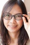 Radości i uśmiechu Asia kobieta Zdjęcia Royalty Free
