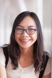 Radości i uśmiechu Asia kobieta Fotografia Royalty Free