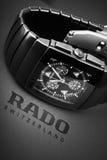 Rado Sintra Chrono, de chronograafhorloge van Mensen Royalty-vrije Stock Fotografie