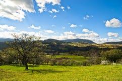 Radocelo mountain landscape at autumn sunny day Stock Photos