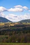 Radocelo mountain landscape at autumn sunny day Stock Image