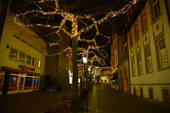 Radolfzell. The Christmas Lights Stock Photography