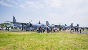 Radom Airshow, Polonia fotografia stock