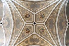 Radom Holy Virgin Mary Cathedral frescoes Royalty Free Stock Photo
