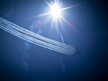 RADOM, POLAND - agosto 30: Setas do vermelho do RAF Fotografia de Stock