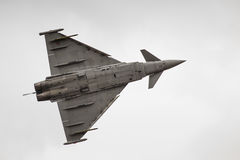 RADOM, POLAND - AUGUST 23: Italian EFA-2000 Eurofighter Typhoon Stock Image