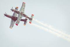 RADOM, POLEN - 26. AUGUST: Flugschauteam Orlik Polen Lizenzfreie Stockfotos