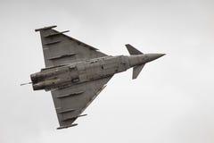 RADOM, POLEN - 23. AUGUST: Italienisches EFA-2000 Eurofighter Typhoon Stockbild