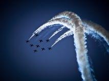 RADOM, POLOGNE - 30 août : Flèches rouges de RAF (A royal Image libre de droits