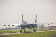 RADOM, POLOGNE - 26 AOÛT 2017 : L'Armée de l'Air ukrainienne Sukhoi Su Images stock