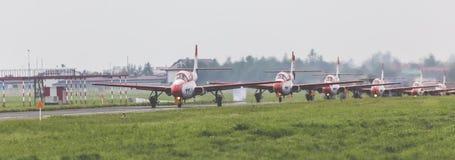 RADOM, POLONIA - 26 DE AGOSTO DE 2017: Bialo-Czerwone Iskry Polonia imagen de archivo