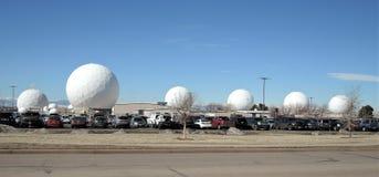 Free Radomes At Buckly Air Force Base In Colorado. Royalty Free Stock Image - 188468036