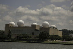 Radomes at the U.S. Naval Research Laboratory Royalty Free Stock Photo