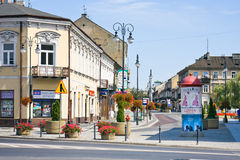 Radomski miasto, Polska Fotografia Royalty Free