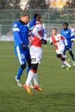 Radoslav Kovac i Tomas Necid - futbol Obraz Stock