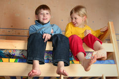 radosny dzieci Obrazy Stock