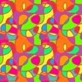 Radosny i kolorowy bezszwowy wzór Zdjęcie Royalty Free