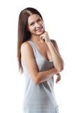radosny młodych kobiet Obraz Stock